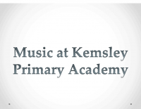Music at Kemsley Primary Academy