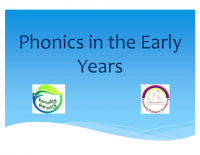 Phonics in the Early Years